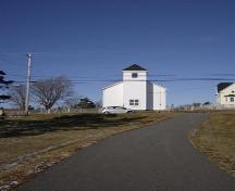 Front elevation of Chapel HIll Museum, Shag Harbour, NS, 2008.; Department of Tourism, Culture and Heritage, Province of Nova Scotia 2008