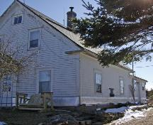 Side and front elevations, Joseph and Beryl Goreham House, Bear Point, NS, 2008.; Dept. of Tourism, Culture and Heritage, Province of Nova Scotia, 2008