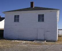 Front elevation, Temperance Hall, Shag Harbour, NS, 2008.; Department of Tourism, Culture and Heritage, Province of Nova Scotia 2008