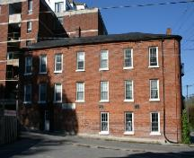 Side of the Chalk Carriage Works (facing South Street), now converted to apartments.; Susan Schappert, 2007