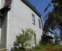 Side elevation, Joseph Howe Austen House, Dartmouth, Nova Scotia, 2005.; HRM Planning and Development Services, Heritage Property Program, 2005.