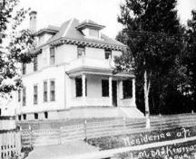 Archive image of MacKinnon House; Garden of the Gulf Museum Collection