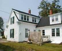 This image shows the rear view of the residence, 2007.; Province of New Brunswick