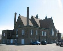 Rear view of the new Sainte-Thérèse Church.; City of Dieppe