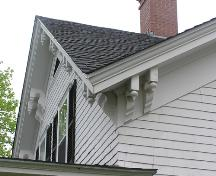 C.B. Archibald House, eave detail, 2004; Heritage Division, NS Dept. of Tourism, Culture and Heritage, 2004