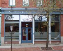 This image shows the main entrance on Prince William Street.; Commercial Properties Limited