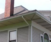 Frank McCurdy House, eave detail, 2004; Heritage Division, NS Dept. of Tourism, Culture and Heritage