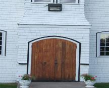 Front entrance, William Black Memorial United Church, Glen Margaret, Nova Scotia, 2007. ; Heritage Division, NS Dept. of Tourism, Culture and Heritage, 2007