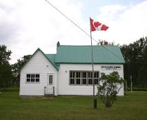 East elevation of Spurgrave School, Carrick, 2004; Historic Resources Branch, Manitoba Culture, Heritage, Tourism and Sport, 2004