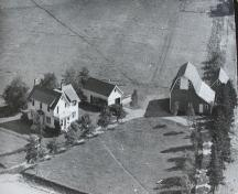 Archive image showing aerial view of property; Garden of the Gulf Museum Collection
