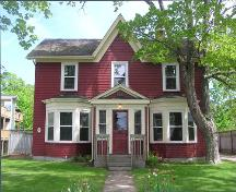John S. Smith House, front elevation, 2004; Heritage Division, NS Dept. of Tourism, Culture and Heritage