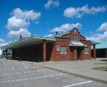 Farmer's Market Building in Market Square; Callie Hemsworth, Brock University, 2007