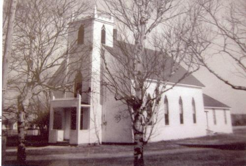 Archive image of former church, c. 1970