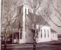 Archive image of former church, c. 1970; Alberton Museum Collection