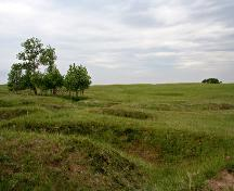 Contextual view, from the north, of the Camp Hughes Military Training Site, Carberry area, 2006; Historic Resources Branch, Manitoba Culture, Heritage, Tourism and Sport, 2006