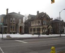 Examples of two Late Italianate Houses on Brant Avenue, 2007.; Kayla Jonas, 2007.