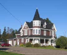 Showing front elevation; Alberton Historical Preservation Foundation, 2007