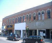 Wray's-Dufferin Block-Helliwell Block in downtown St. Catharines.; Photograph by Katie Hemsworth, 2007.