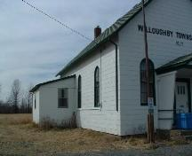 Willoughby Township Hall, built in 1877.; City of Niagara Falls