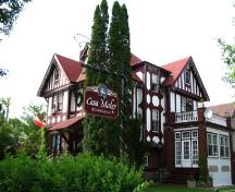 View of the southwest elevation of the Maley House, Brandon 2005; Historic Resources Branch, Manitoba Culture, Heritage, Tourism and Sport, 2005
