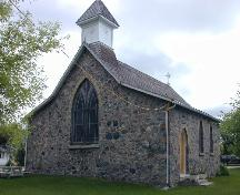 Front view of Christ Anglican Church.; Government of Saskatchewan, Brett Quiring, 2004
