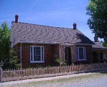 Home of War of 1812 heroine Laura Secord.; Photograph by Callie Hemsworth, 2007.