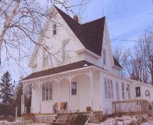 Showing south elevation of house; Alberton Historical Preservation Foundation, 2006