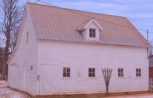 Showing former carriage house
