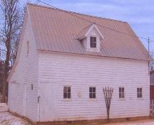 Showing former carriage house; Alberton Historical Preservation Foundation, 2006