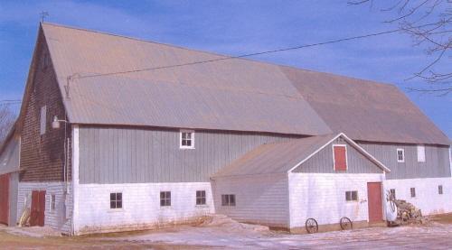 Showing barn