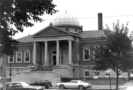 Historic Image of the Carnegie Library