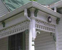 J.L. Doggett House, eave detail, 2004; Heritage Division, NS Dept. of Tourism, Culture and Heritage