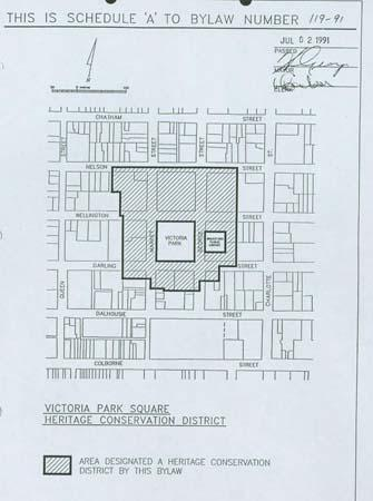 Victoria Park Square District Plan