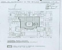 Detailed Plan of Victoria Park Square Heritage Conservation District, 1991.; Department of Planning, City of Brantford, 1991.