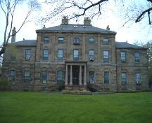 Government House, Hollis Street façade, Halifax, 2004; Heritage Division, NS Dept. of Tourism, Culture and Heritage, 2004