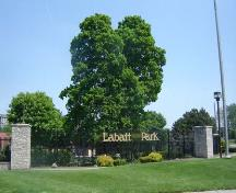 Of note is the park's name, which commemorates the contribution of the Labatt Family to the park.; Martina Braunstein, 2007
