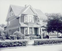 Showing house, c. 1950s; Wyatt Heritage Properties, Acc. 020.35