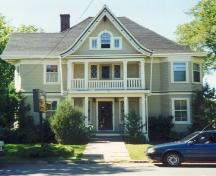 Showing east elevation; Wyatt Heritage Properties, 2004