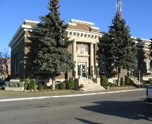 Front view of Land Titles Building; Government of Saskatchewan, James Winkel, 2004.