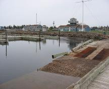 View of a section of the Shediac Bay Marina; Town of Shediac