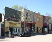 Context view of the Welch Block, Boissevain, 2005; Historic Resources Branch, Manitoba Culture, Heritage,  Tourism and Sport, 2005