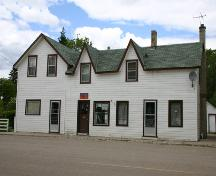 Main elevation of the Alexander Post Office, Alexander, 2004; Historic Resources Branch, Manitoba Culture, Heritage, Tourism and Sport, 2004