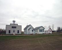 Contextual view, from the east, of Mount Prospect School, Cartwright, 2006; Historic Resources Branch, Manitoba Culture, Heritage, Tourism and Sport, 2006