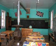 Interior of Mount Prospect School, Cartwright, 2006; Historic Resources Branch, Manitoba Culture, Heritage, Tourism and Sport, 2006