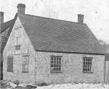 Archive image of original Bishop's Foundry; Wyatt Heritage Properties, Acc. 018.138