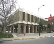 Exterior view of the City Hall Annex, 2006; City of Victoria, 2006