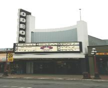 Exterior view of the Odeon Theatre, 2006; City of Victoria, 2006