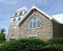 closer view of Manotick United Church; RHI 2006
