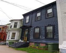 Side elevation, 5522 North Street, Halifax, NS, 2008.; Heritage Division, NS Dept. of Tourism, Culture and Heritage, 2008