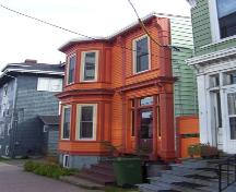 Side elevation, 5516 North Street, Halifax, NS, 2008.; Heritage Division, NS Dept. of Tourism, Culture and Heritage, 2008